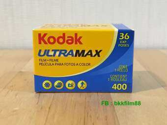 ฟิล์มสี Kodak Ultramax 400 35mm 135-36 Color Film