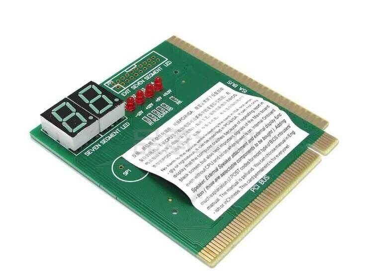 PCI PC Diagnostic 2-Digit Card Motherboard Post Tester Analyzer