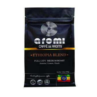 Caffe De Aromi Ethiopia Blend Whole Bean coffee (2 x 200g)