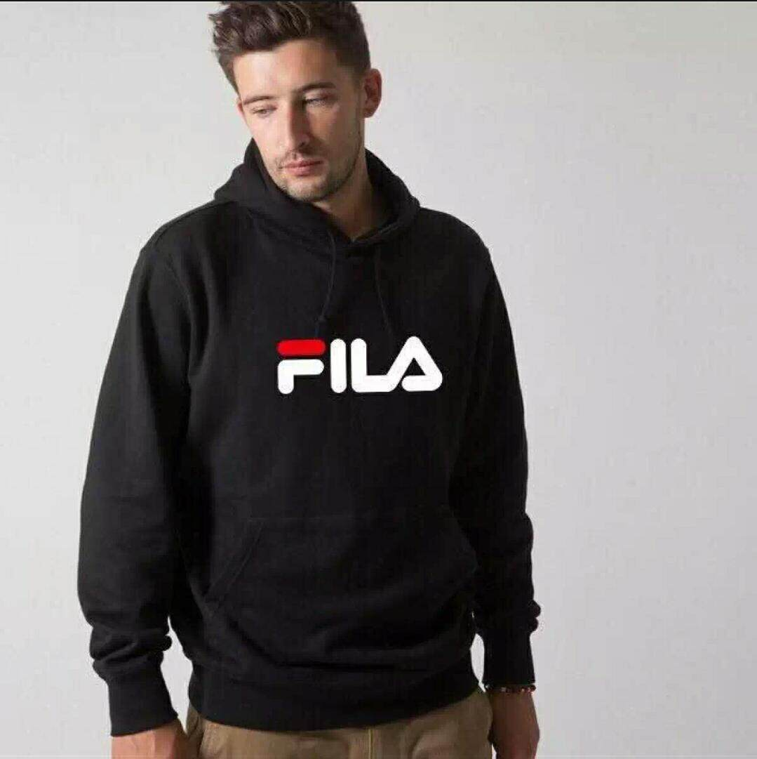 FILA Men New style hoodie pullover Top Clothes เสื้อผู้ชายแฟชั่น