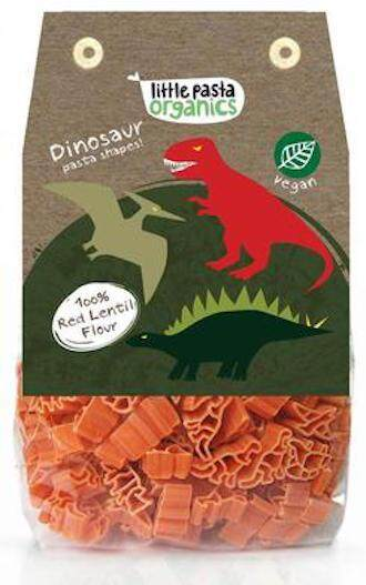 Little Pasta Organics Dinosaur Pasta Shapes 250g