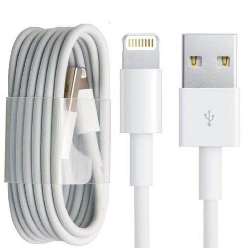 สายชาร์จไอโฟน ของแท้ 100% โดยบริษัท Apple Lightning Usb Cable Charger อุปกรณ์ชาร์จ Iphone 5 5s 6 6s 7 7s 8.
