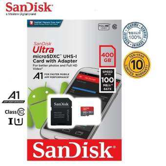 SanDisk 400GB Ultra Micro SD 100MB/s