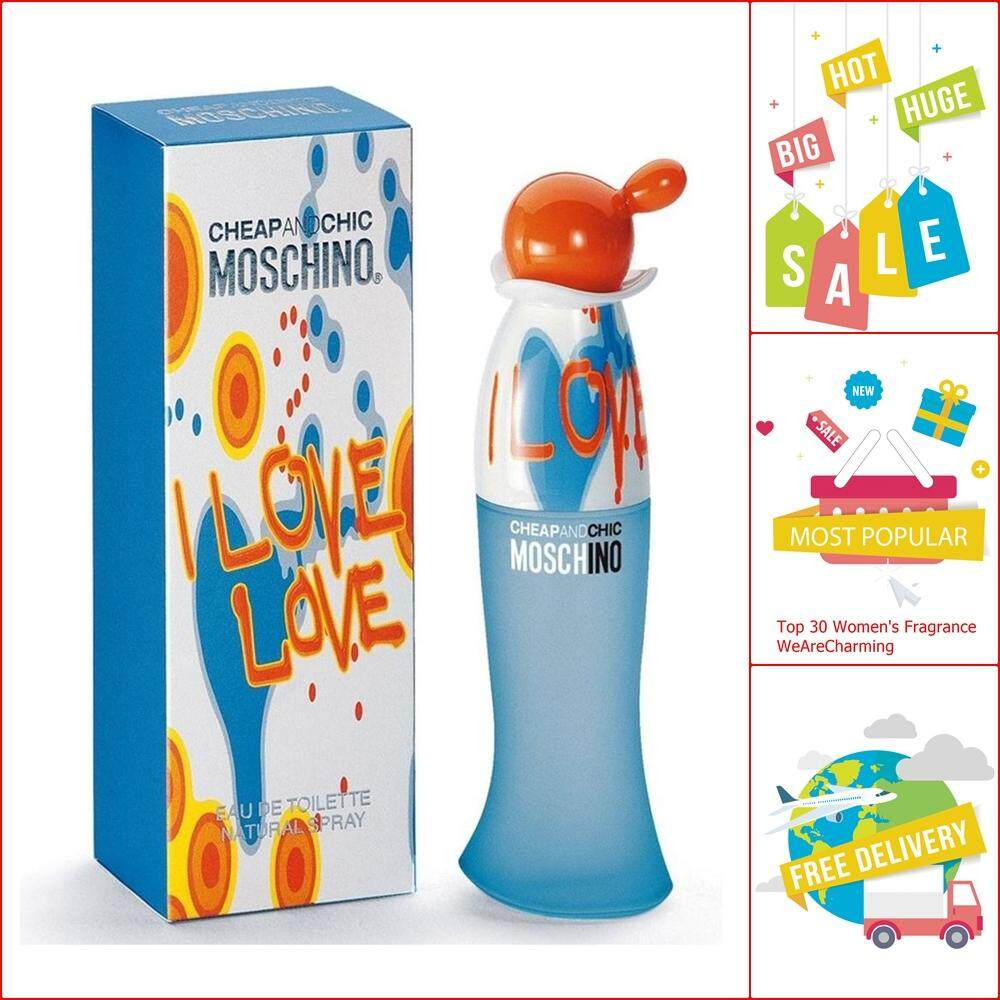 Moschino Cheap and Chic I Love Love EDT 100 ml.
