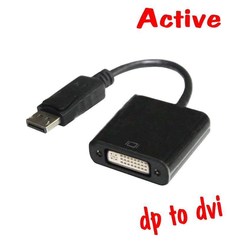 Display to DVI Adapter Converter, Display Port DP To DVI-I Adapter Displayport DVI-D Splitter Male to Female Video Link Cable 1080P Black
