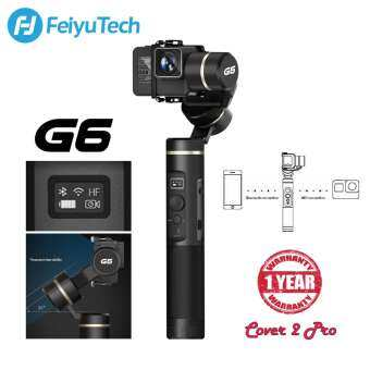 Feiyu Tech G6 3-Axis Handheld Gimbal Stabilizer for GoPro HERO 7, 6, 5, SONY RX0 Action Camera