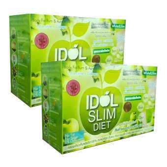 Idol slim diet apple by TK (10 ซอง) - 2 กล่อง