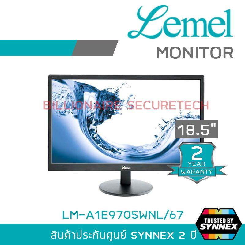 LEMEL LED MONITOR 18.5 inch MODEL : LM-A1E970SWNL/67