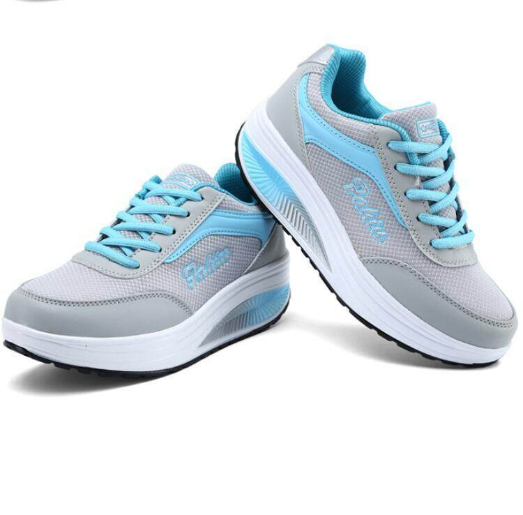 2NE Women Sports Sneakers Travel Bodybuilding Soft Sole Net Surface Walking Shoes รองเท้าแตะส้นเตารีด
