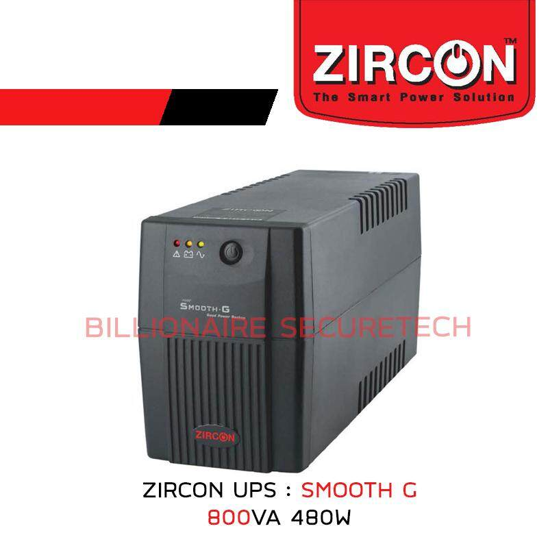ZIRCON UPS 800VA 480W : SMOOTH-G