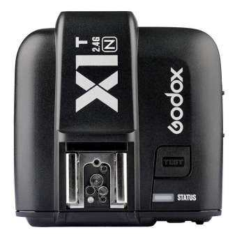 Godox X1T X1T-N TTL 2.4 G Wireless 1 / 8000s HSS 32 Channels Camera Flash Trigger Transmitter for Nik0n D3300 D3200 D5100 D7200 D800 D3X D3 D2X D2H D1H D1X D700 D300 D200 D100(X1N-T)