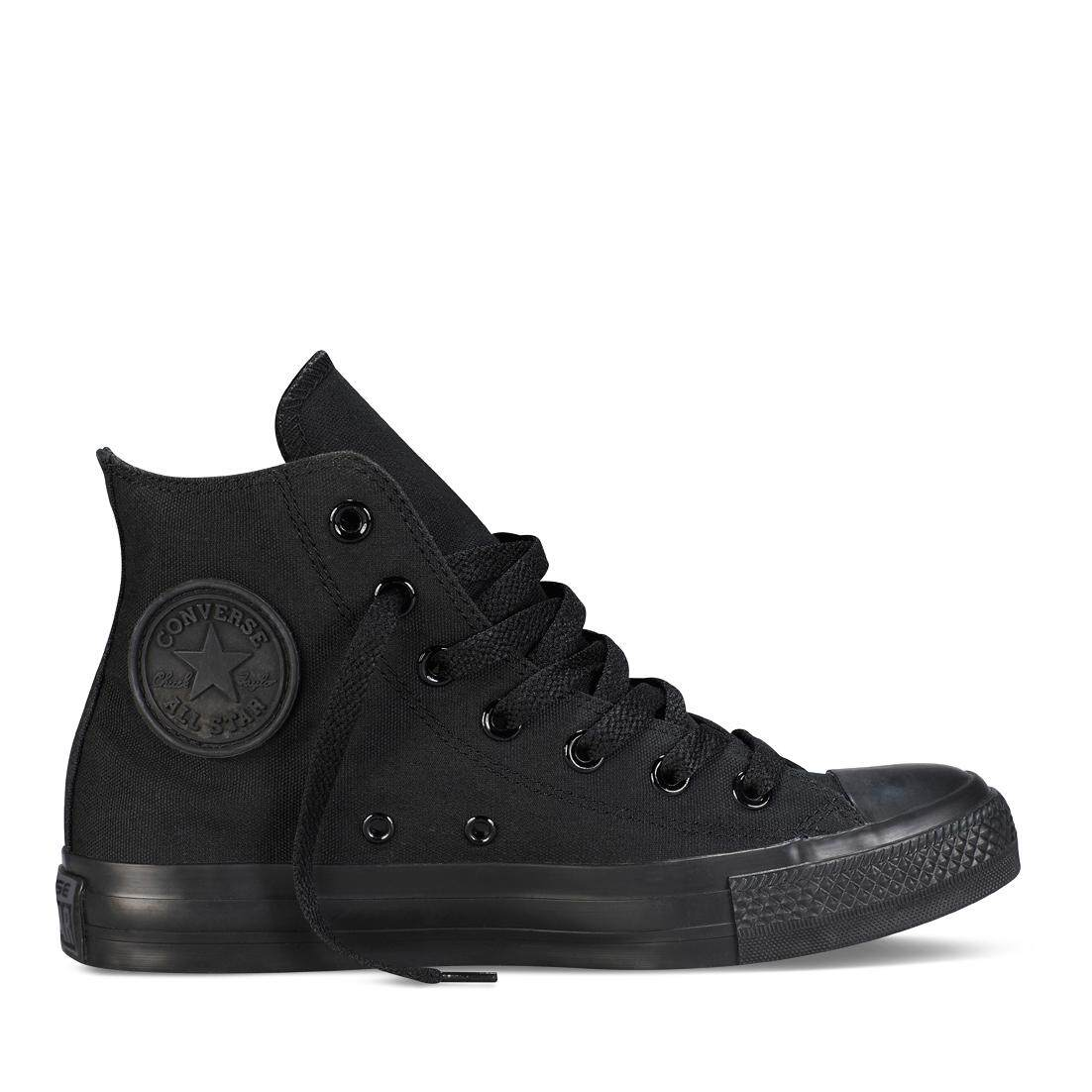 CONVERSE CHUCK TAYLOR ALL STAR - HI - BLACK MONOCHROME - M3310C