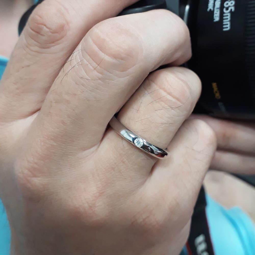 Beauty Jewelry เครื่องประดับผู้หญิง 925 Silver Jewelry แหวนสิริมงคล แหวนพูนทรัพย์พลอยนพเก้า แหวนโชคลาภ แหวนเสริมดวง แหวนเงินแท้ประดับเพชร CZ รุ่น RS2266-RR เคลือบทองคำขาว