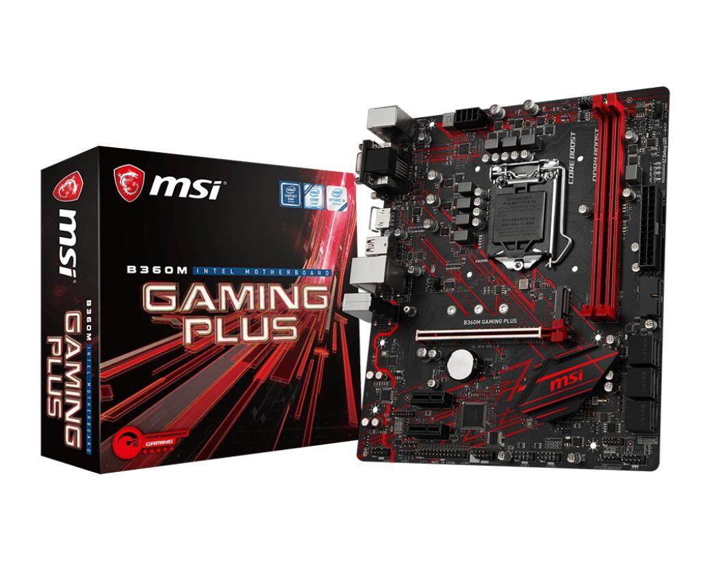 MSI B360M GAMING PLUS MAINBOARD DDR4 Socket 1151 Support CPU Gen 8
