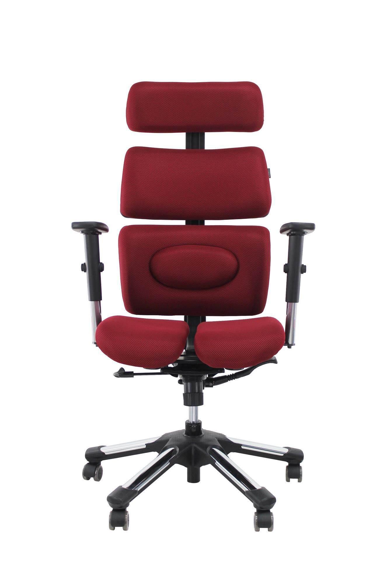 Hara Chair เก้าอี้สํานักงานเพื่อสุขภาพ Doctor L (สีเเดง)