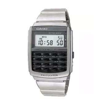Casio Vintage Retro Style Digital Alarm Stopwatch Calculator Watch CA-506-1DF(Silver )