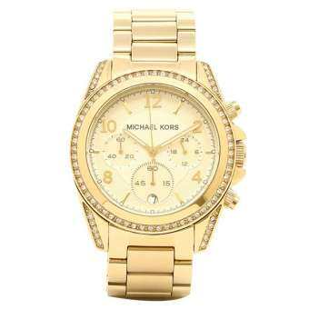 นาฬิกาผู้หญิง MICHAEL KORS Golden Blair Glitz Watch MK5166