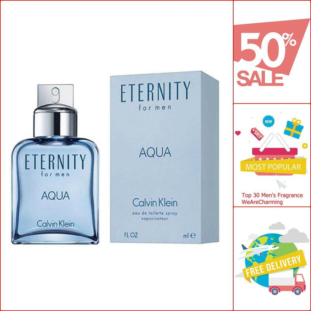 CK Eternity Aqua for Men EDT 200 ml.