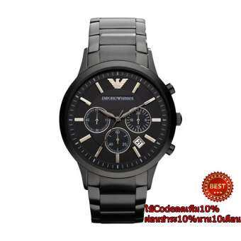 Armani Classic Chronograph Stainless Steel - Black Men's watch AR2453