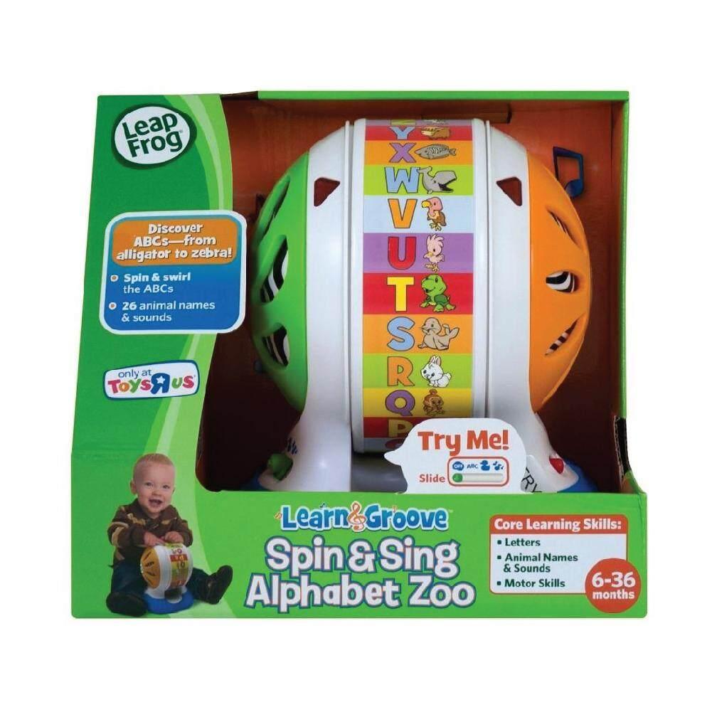 Leap Frog เครื่องหมุนดนตรี Spin & Sings Alphabet Zoo