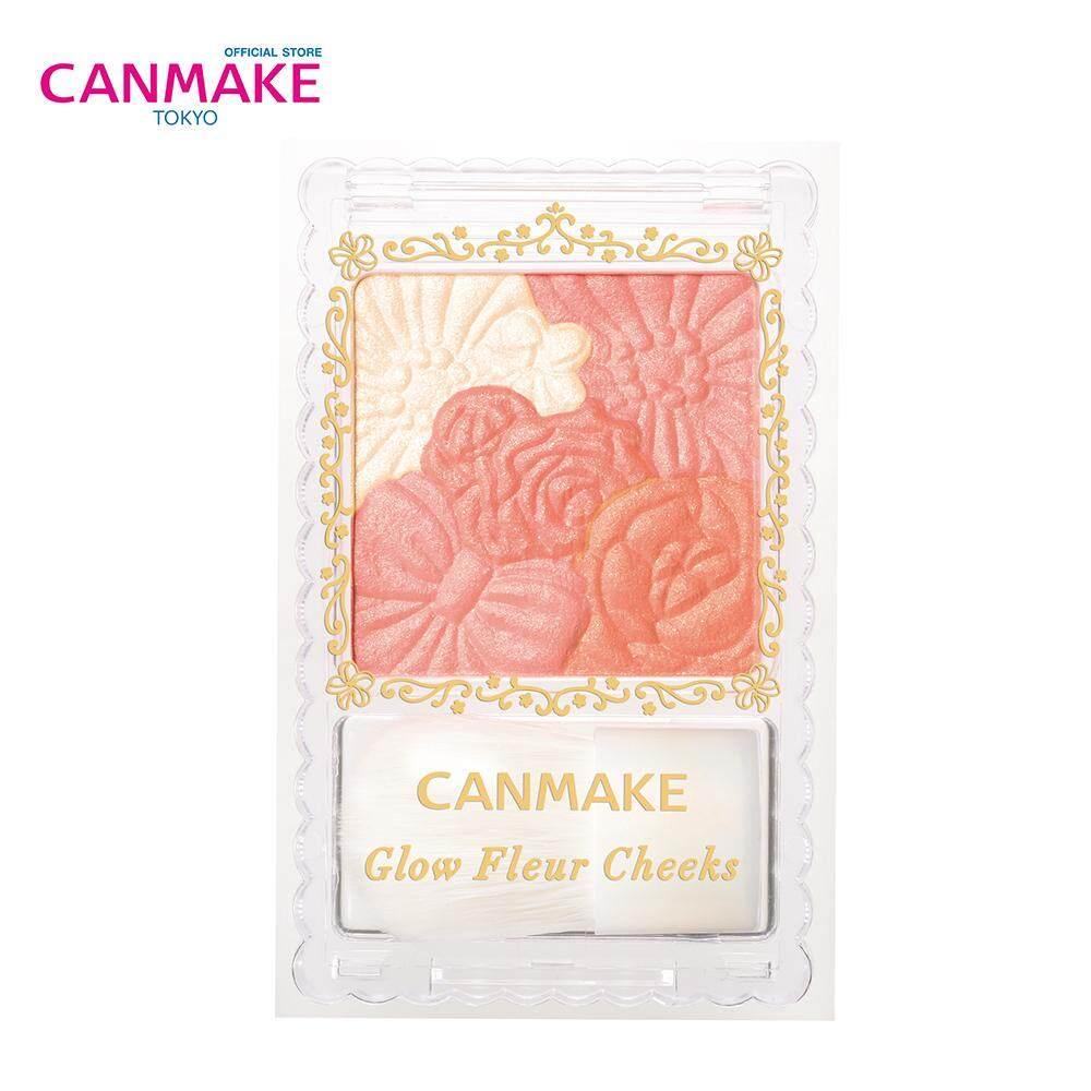Canmake Glow Fleur Cheeks บลัชออนเนื้อฝุ่น (6.3 g)