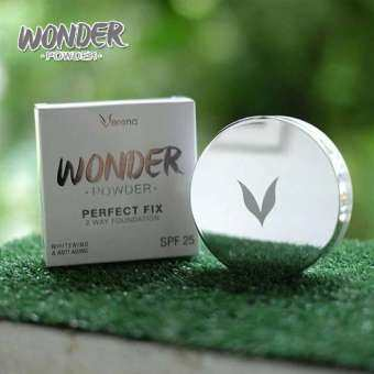 แป้ง Verena WONDER POWDER PERFECT FIX TWO WAY FOUNDATION SPF25
