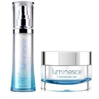Jeunesse Luminesce Advanced Night Repair 30 ml (1 กระปุก) + Daily Moisturizing Complex (1 ขวด)