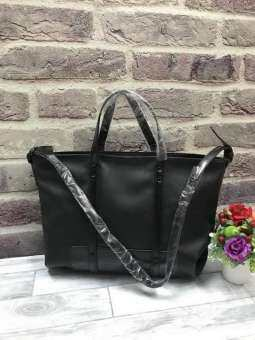 Zara : Trf Leather Tote Bag