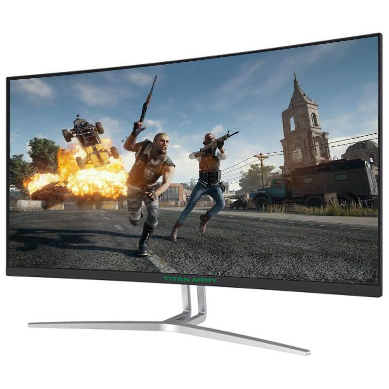 "Titan Army C27S-PLUS 27"" 144Hz LED Gaming Monitor Full HD, FreeSync, 1ms, Samsung VA 1800R Curved Panel"