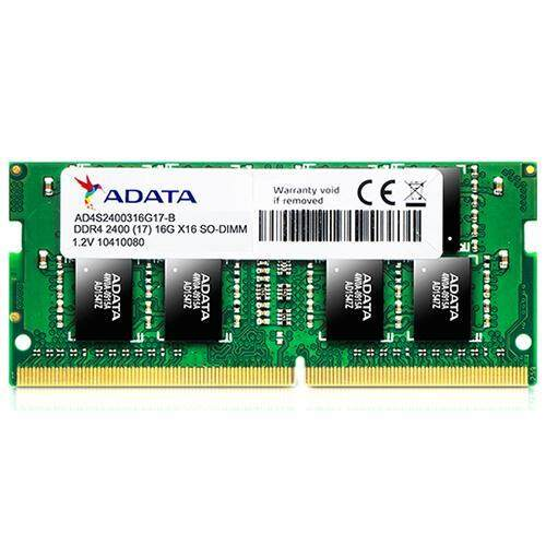 ADATA Ram Notebook DDR4 4GB/2400 MHz 512X16 CL17