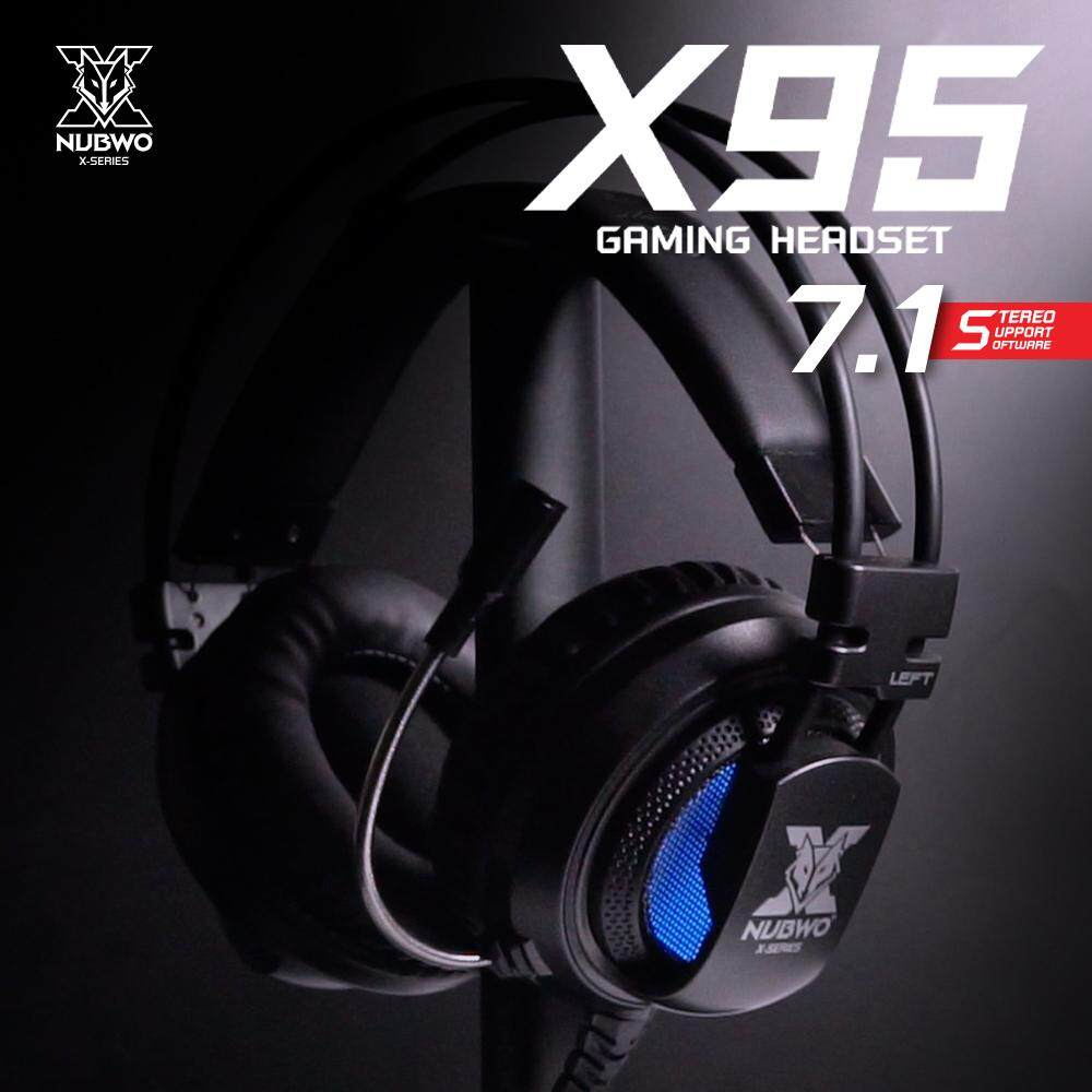 NUBWO X95 7.1 VIRTUAL SURROUND GAMING HEADSET USB