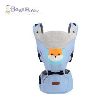 4-in-1 Baby Carrier with Hip Seat breathable baby backpack sling