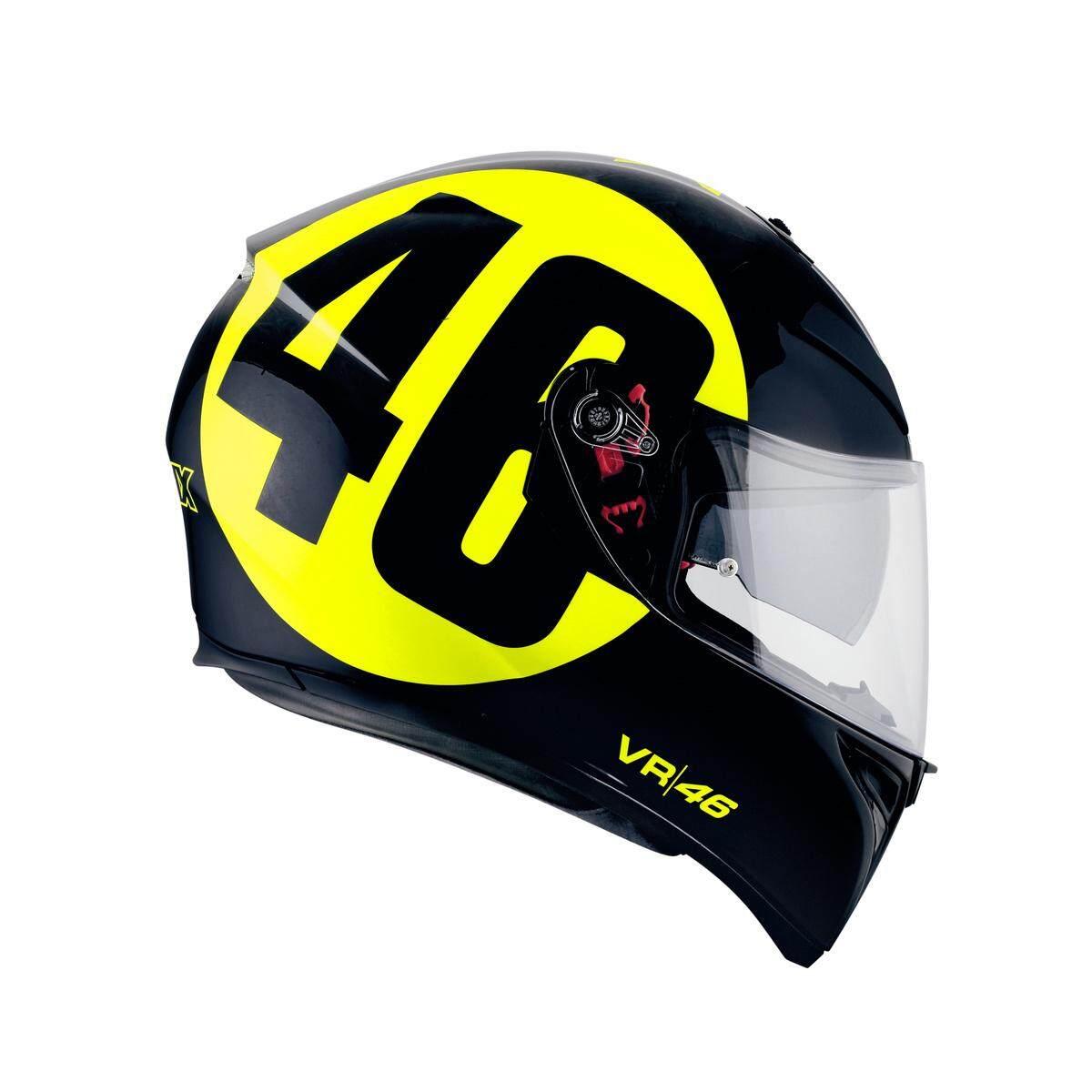 หมวกกันน็อค AGV รุ่น K3-SV สินค้านำเข้า 100% มีแว่นกันแดด ถอดนวมซักได้ รับรองบลูทูธ มีสปอยเลอร์