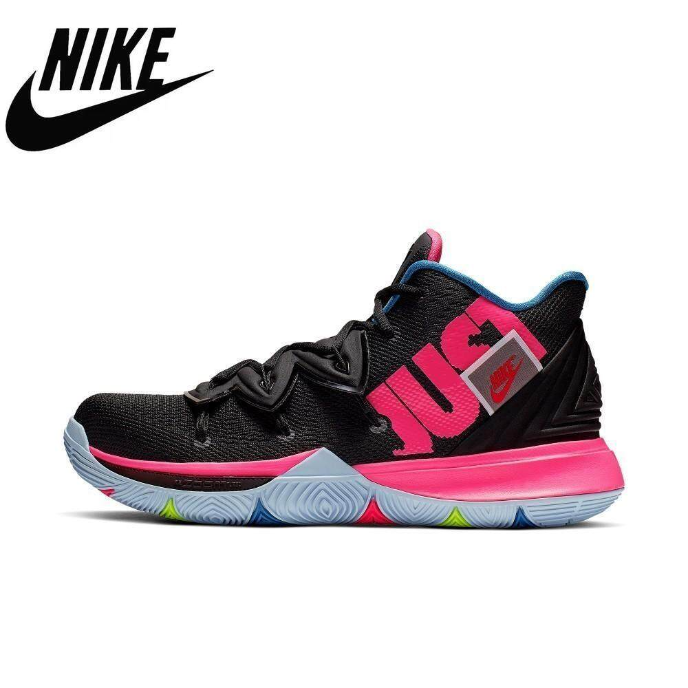Nike Original KYRIE 5 EP Basketball Shoe For Man Anti-slip Breathable Sports Sneakers Short Absorption