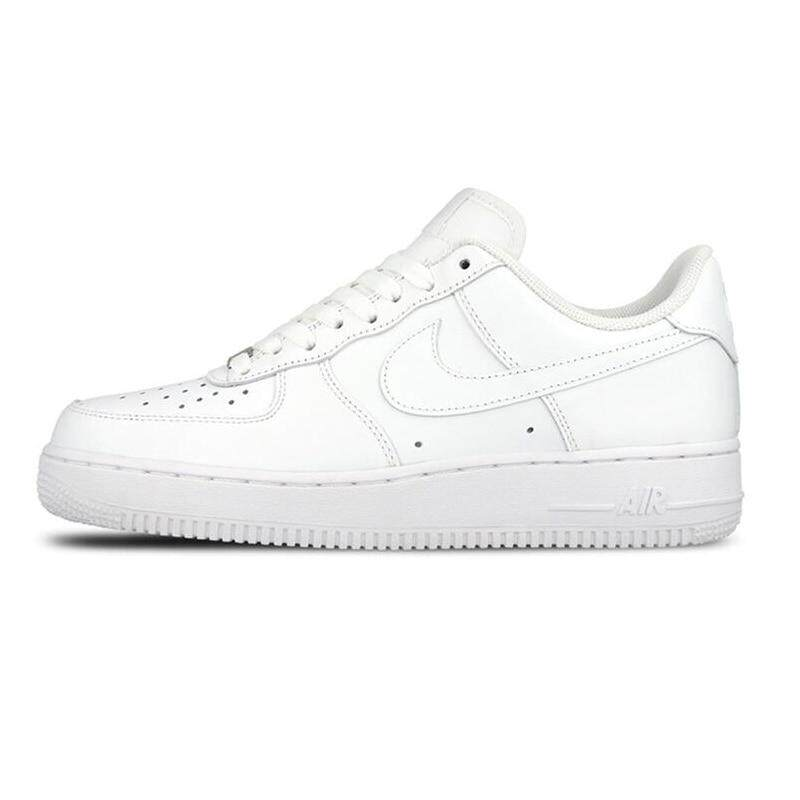 นครนายก Nike_AIR_FORCE 1 AF1 Men Breathable Skateboarding Shoes Low-top Trainers Sports Flat Classic Outdoor Sneaker Fashion Shoes