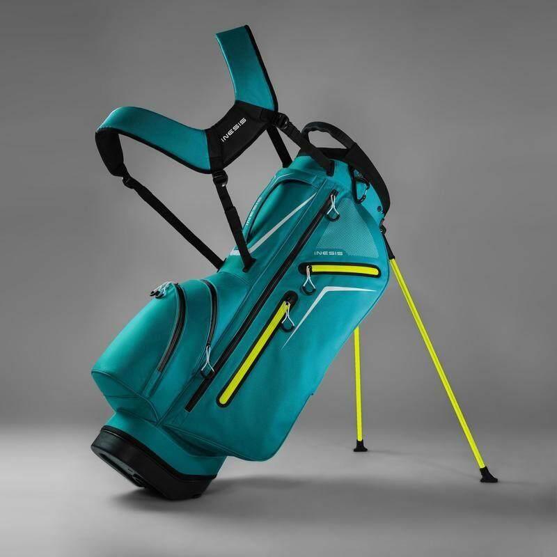 Golf Bag ถุงกอล์ฟมีขาตั้ง กระเป๋าใส่ไม้กอล์ฟ สำหรับขนย้ายไม้กอล์ฟ 14 อัน น้ำหนักเบา