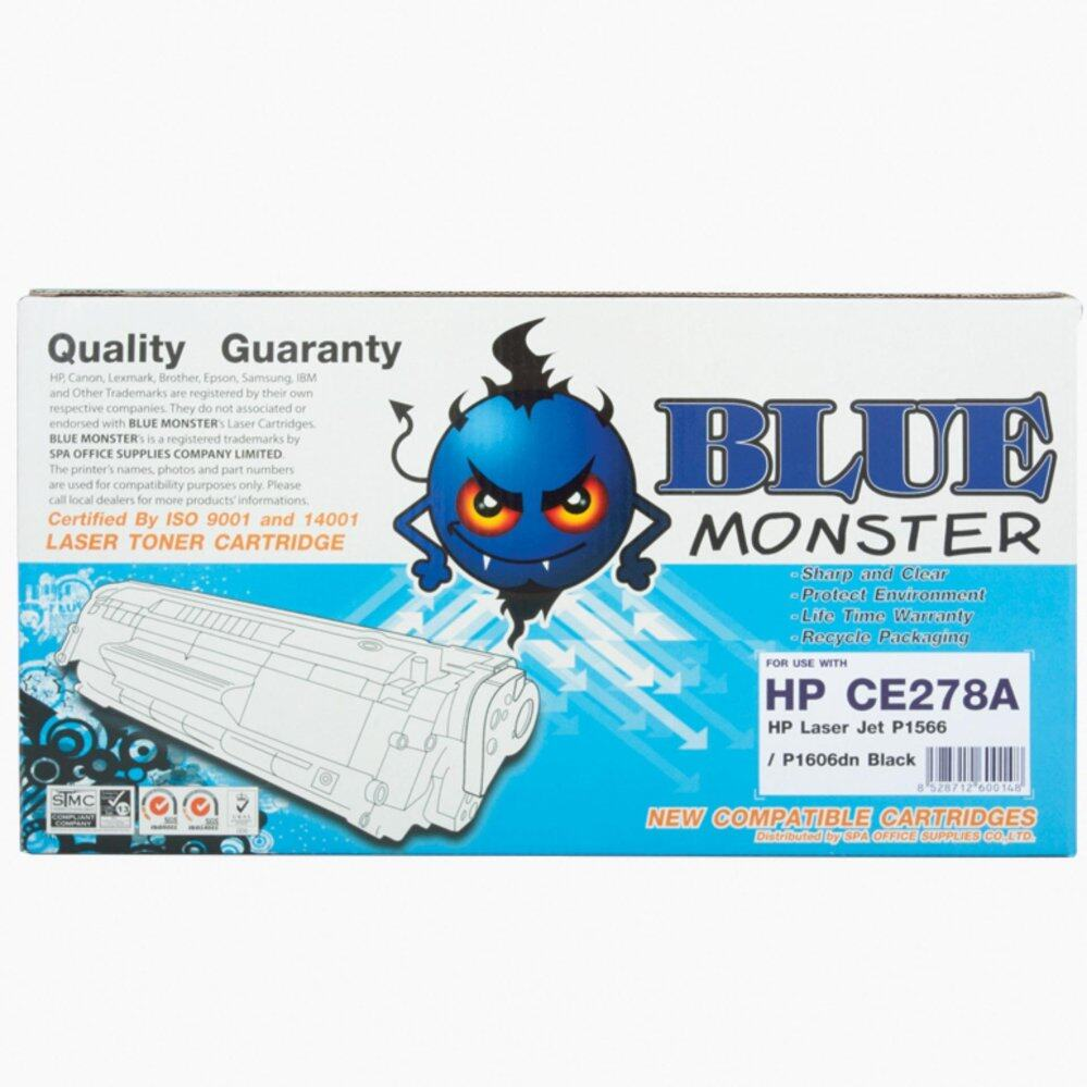 BLUE MONSTER TONER HP CE 278A