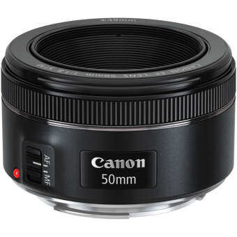 Canon EF 50mm f/1.8 STM (Black)