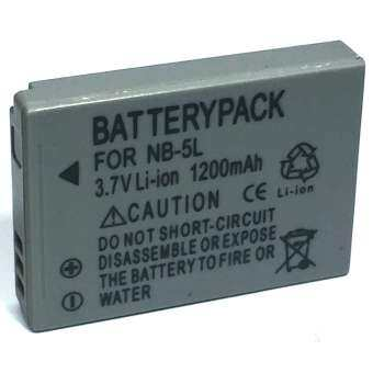 For Canon แบตเตอรี่กล้อง รุ่น NB-5L Replacement Battery for Canon