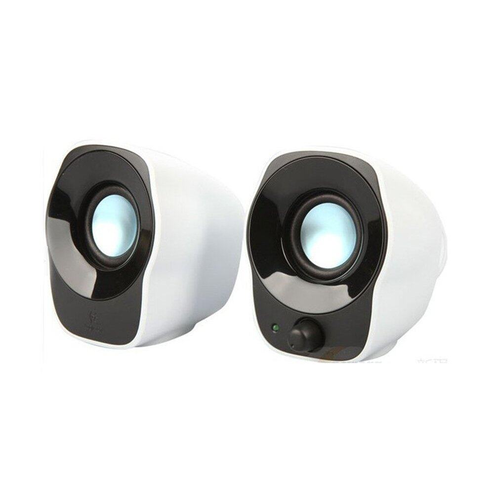 Logitech Z120 Stereo Speakers - Black & White