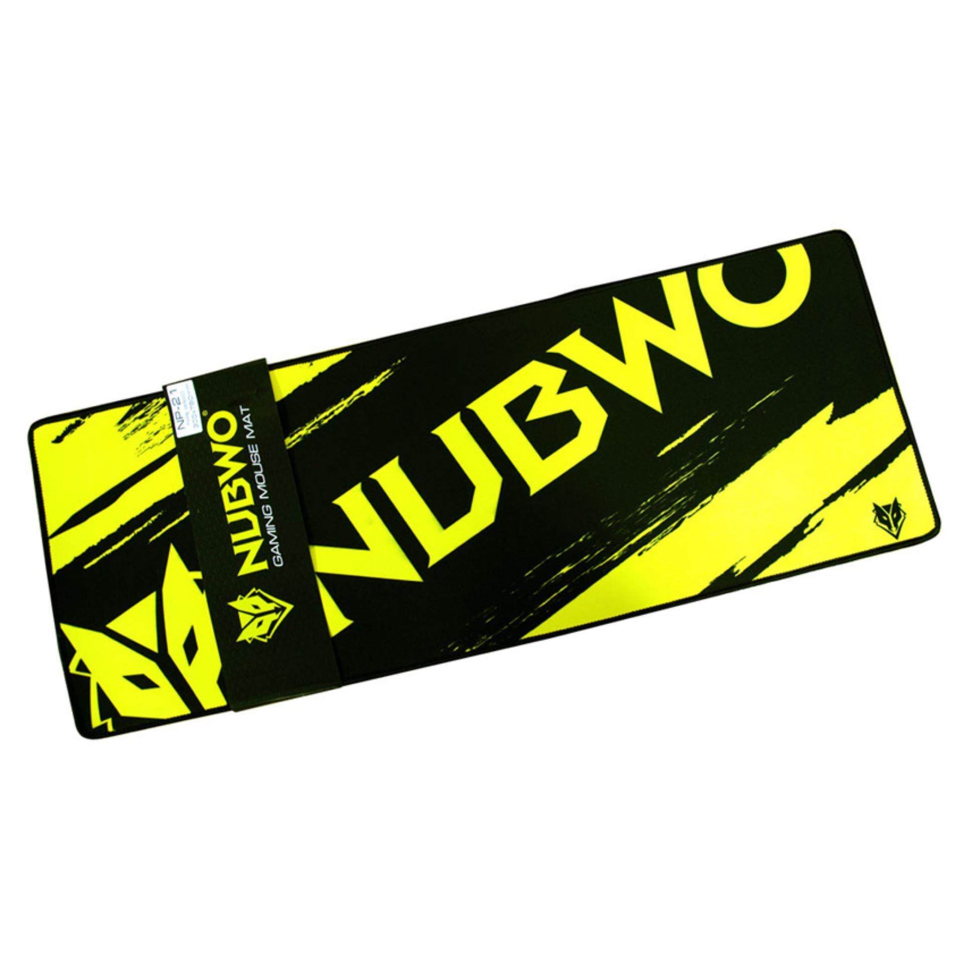 NUBWO LONG GAMING MOUSE MAT NP 021 (YELLOW)