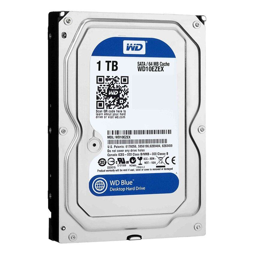 "WD Blue 3.5"" Desktop Hard Drives 2TB (WD20EZRZ)"