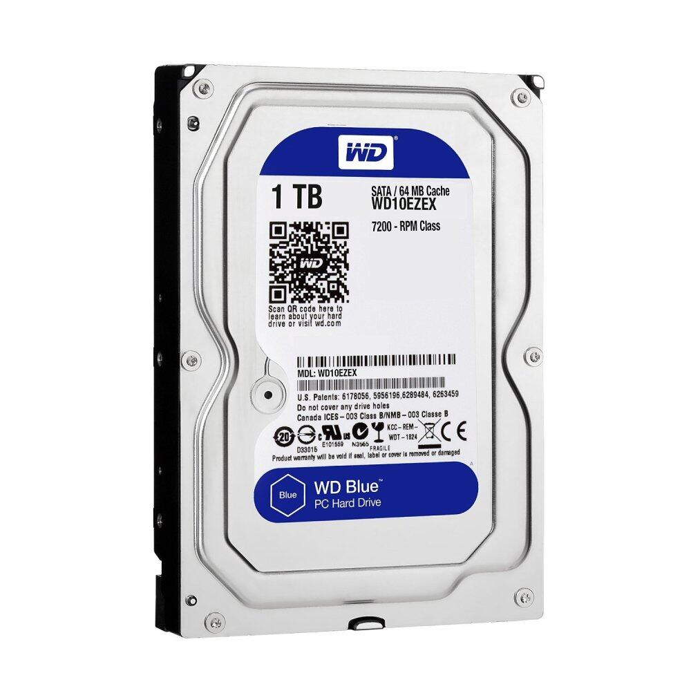Western Digital WD Blue 1TB SATA3 7200RPM Harddisk HDD Desktop PC