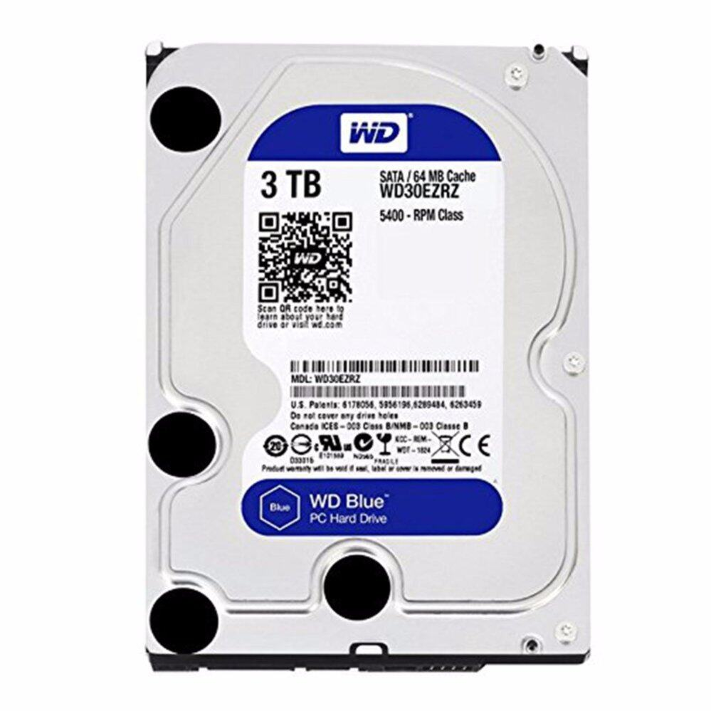 WESTERN HDD Hard Disk Internal 3.0TB WD SATA-III 64MB WD30EZRZ (BLUE)