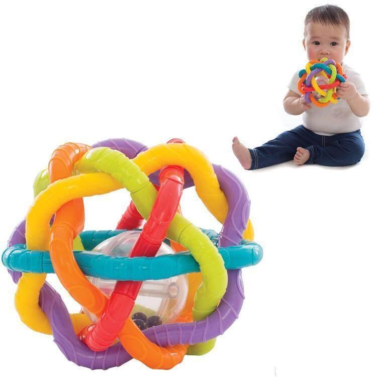 Playgro ของเล่นเสริมพัฒนาการ + ยางกัด Bendy Ball