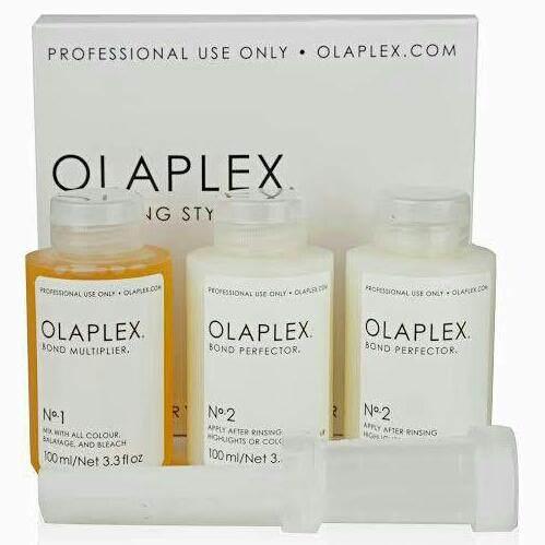 Olaplex Traveling stylist kit no.1(1ขวด)+no. 2(2ขวด)