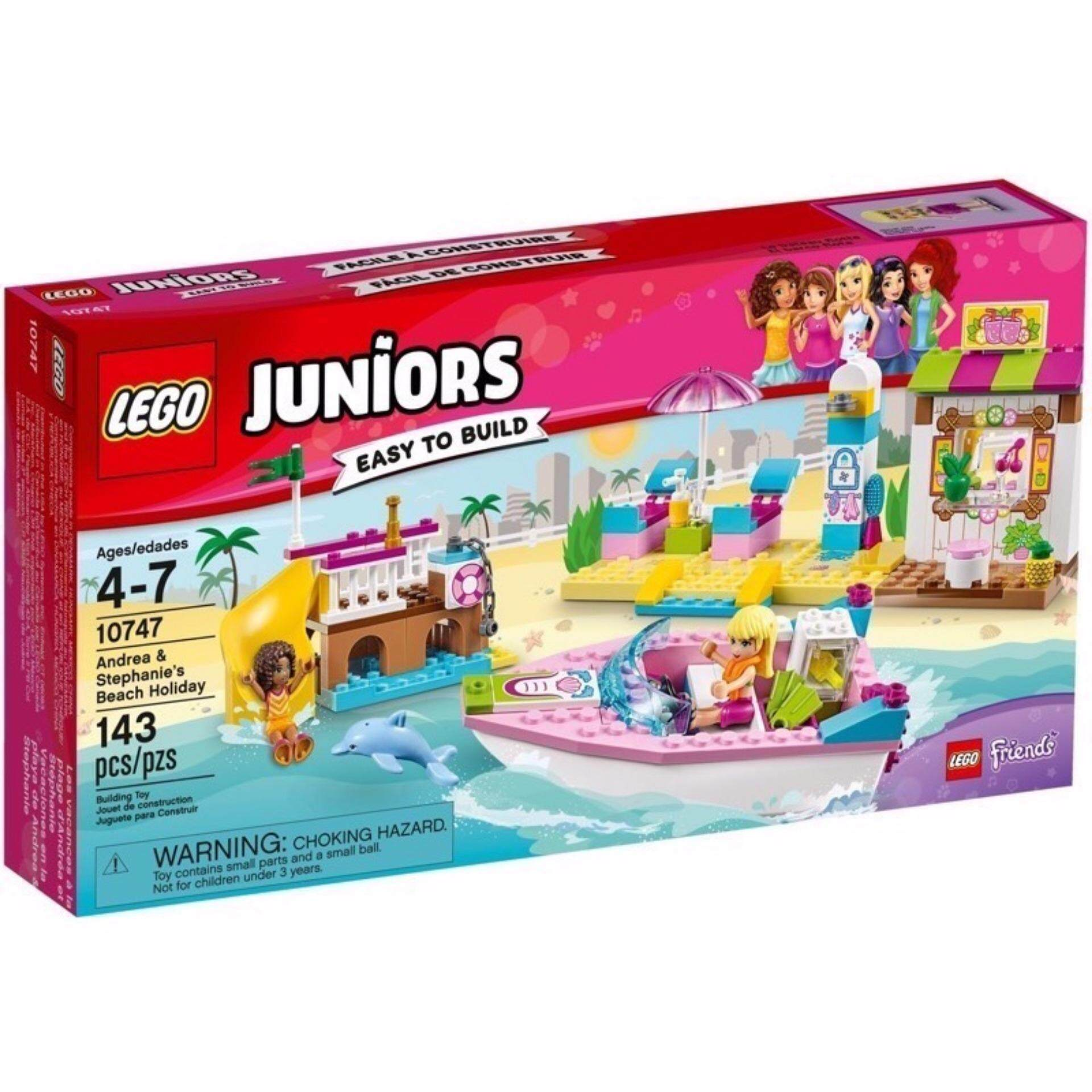 10747 Andreaamp; Stephanie's Holidayชุดตัวต่ Juniors Beach Lego VpzSUM