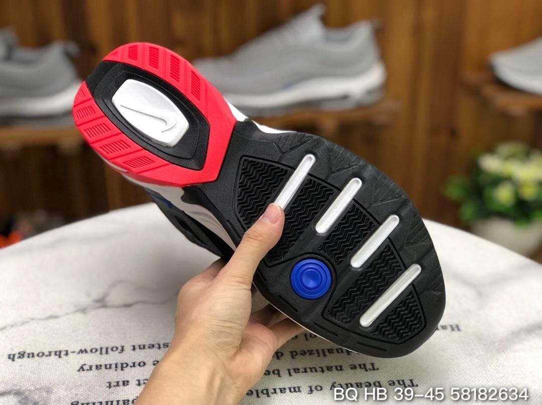 รีวิว 【Official genuine】Nike M2K TEKNO Men's shoes Women's shoes sports shoes fashion shoes running shoes Genuine Leather Air cushion shoes AV4789-003 Official store