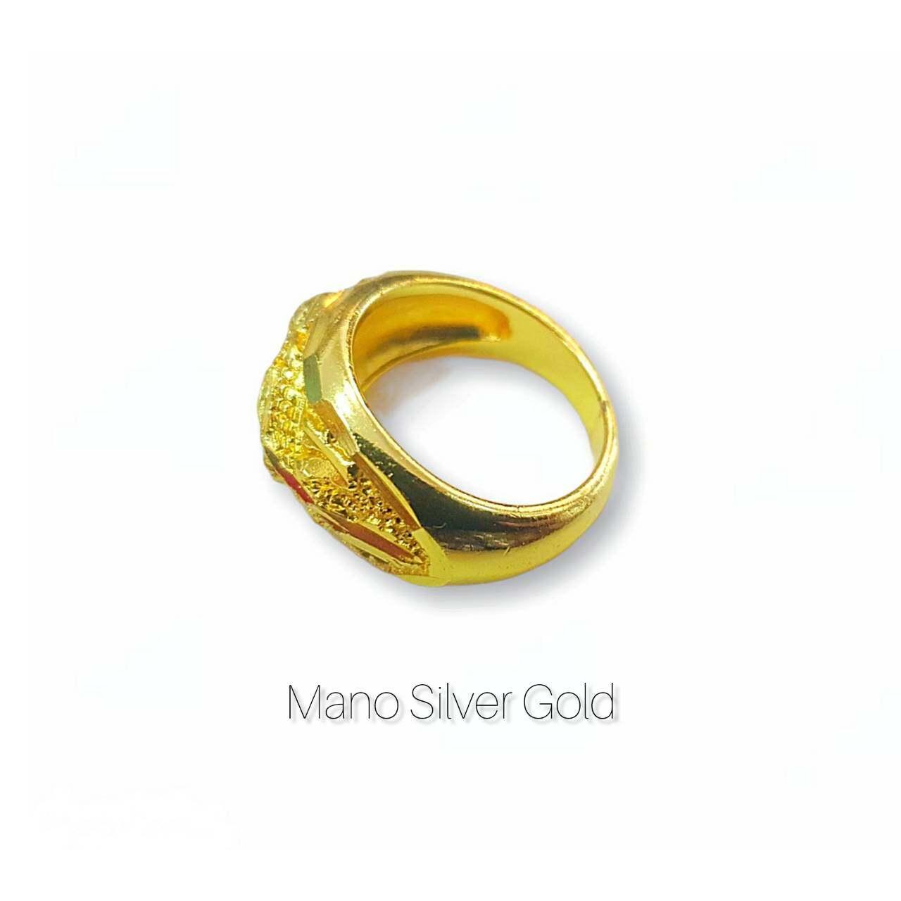รีวิว แหวนทองเคลือบ 048 แหวนทองเคลือบแก้ว ทองสวย แหวนทอง แหวนทองชุบ แหวนทองสวย แหวนหนัก 1 สลึง