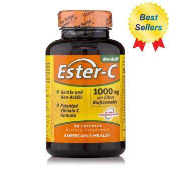 American Health, Ester-C With Citrus Bioflavonoids, 1,000 mg, x 90 แคปซูล